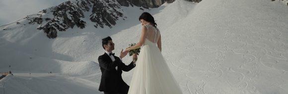 Hochzeitsfilm Swarovski Kristallwelten